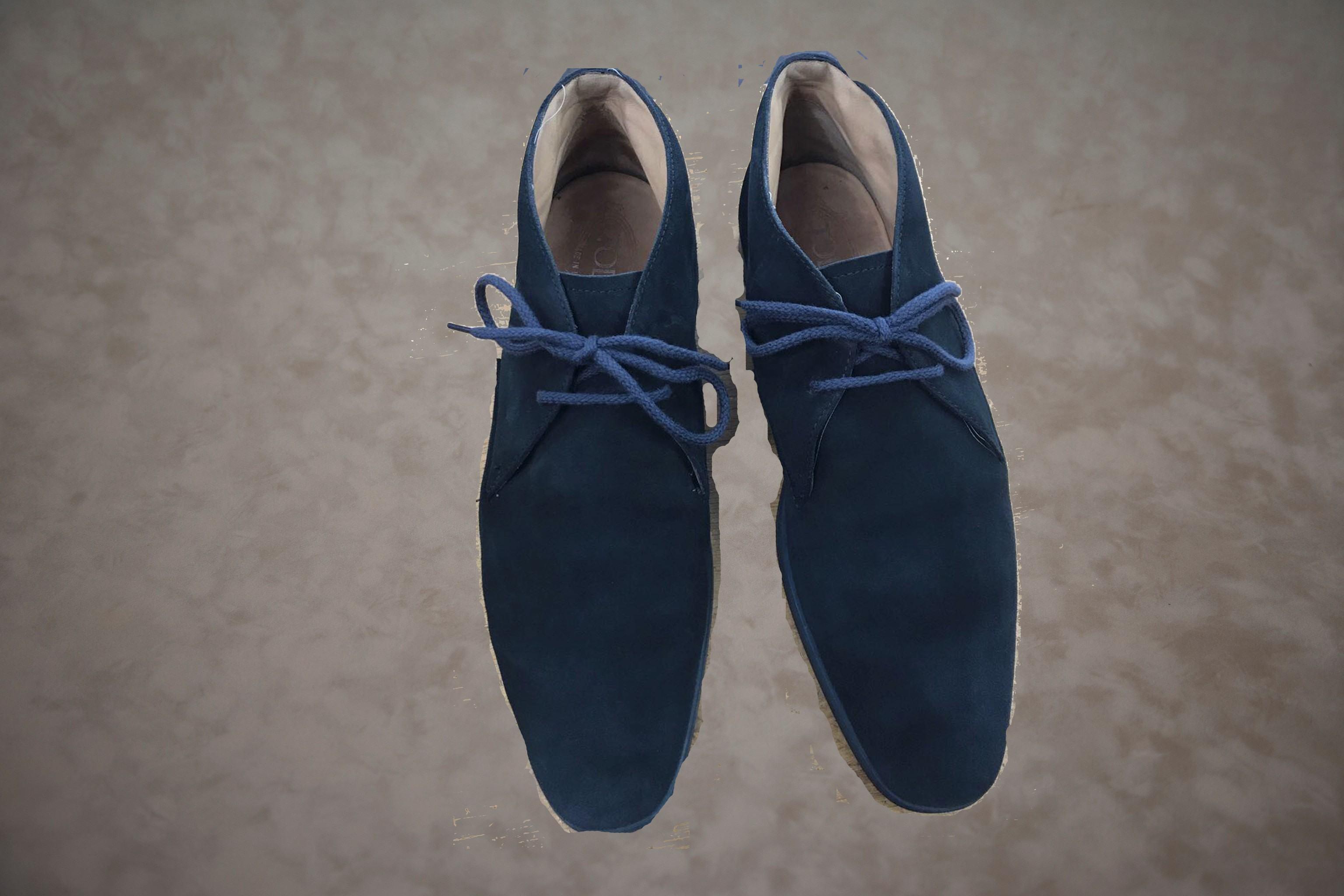 Schoenen schoonmaken na behandeling