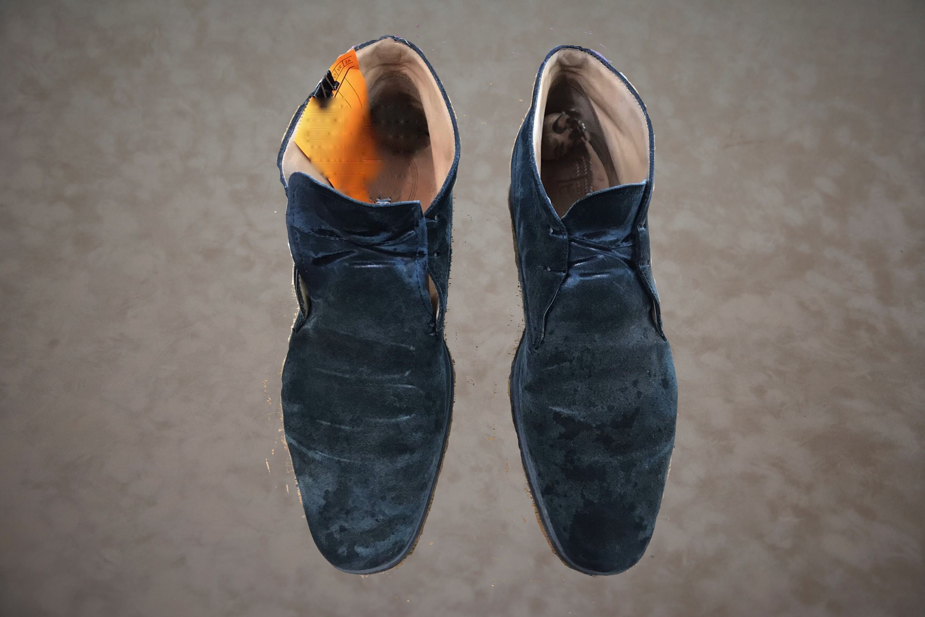 Schoenen schoonmaken voor behandeling